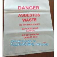 Quality BIOHAZARD AUTOCLAVABLE,ASBESTOS, MEDICAL WASTE DISPOSAL SACKS, PATIENT BELONGING,SPECIMEN SAMPLING BAGS for sale
