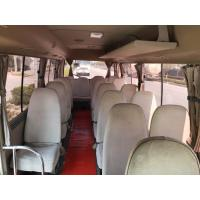 Quality diesel / petrol 2015 2016 luxury mini coach used toyota coaster with 30seats for sale for sale