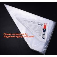 Quality PIPING PASTRY BAGS, ICE BAG PACK, WICKETED BAGS, MICROPERFORATED FOOD BAGS, STAPLED APRON for sale