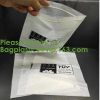 Buy cheap 100% COMPOSTABLE ZIP BAG, 100% BIODEGRADABLE ZIPPER BAG, SACKS, D2W BAGS, EPI from wholesalers