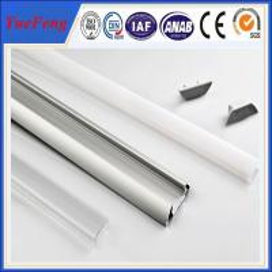 Quality Hot! OEM aluminum led profile housing, square/u shape led aluminum channel for sale