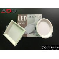 Quality Recessed Anti - Glare LED Round Panel Light 22 Watt SMD2835 3000K 80Ra for sale