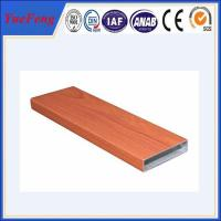 Quality aluminum pipes for decoration, Decorative extruded aluminum profiles for sale