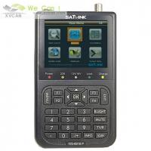 Satlink WS-6918P HIQ 8PSK DVB-S2 Satellite TV Finder Meter