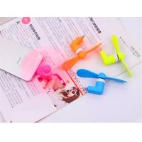 Buy cheap Portable USB Mini Fans Universal For Cell Phones Power Bank Laptop Promotion Accessories from wholesalers