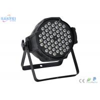 Quality RGBW Color LED Par Stage Lights For Wedding Events Low Power Consumption for sale
