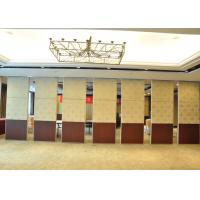 Quality Aluminium Movable Wall Panels Exhitibition Partition System For Acoustic Door for sale