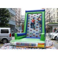Quality Customized Inflatable Sport Games , Rocky Mountain Deluxe Inflatable Climbing Wall for sale