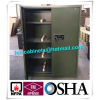 Buy Fireproof Gun Storage Industrial Safety Cabinets , Gun Powder Storage Flame Proof Storage Cabinets at wholesale prices