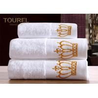 Quality Washcloth Hotel Towel Set  White 100% Cotton Hotel Bath Towels for sale