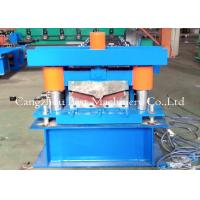 Quality Ridge Cap Roll Forming Machine / Hydraulic Metal Roof Forming Machine for sale