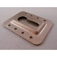 Quality Chromate Plated Custom Metal Stampings , Sheet Metal Press Parts OEM Services for sale
