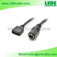 4 PIN DC Connection Cable for Flexible Light Strips for sale