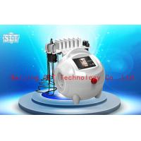 Red Diode Lipo Laser Slimming Machine / Ultrasonic Cavitation RF Fat Removal Beauty Machine for sale