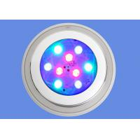 Quality RGB 9W Underwater Led Lights Swimming Pool IP68 Wall Mounted Focos LED Pool Lamp 12V for sale