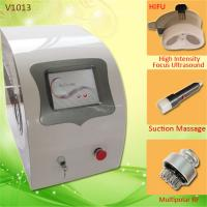 China Beauty Spa Body Slimming HIFU Machine With Multi - Polar RF Vacuum Cavitational System on sale