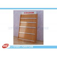 China Shop MDF Magazine Display Rack Milamine Finished , Countertop Display Rack on sale