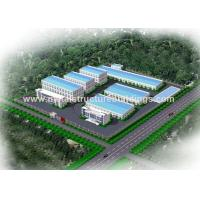 Economical Steel Structure Warehouse , Steel Frame Building Construction for sale
