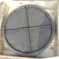 Quality Stainless steel wire mesh mist eliminator / gas liquid wire mesh demister for sale