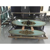 Quality cheap price stained glass penel for wooden doors exported to Malaysia for sale