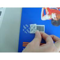 Quality Adhesive VOID Tamper Eviden Security Labels Various Types For Brand Protection for sale