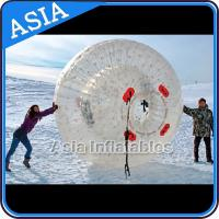 Quality Clear Inflatable Human Hamster Ball ,  Zorb Ball Used On Snow for sale