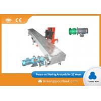 Quality Fully Enclosed Stainless Steel Chain Conveyor Good Sealing Safe Operation for sale
