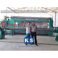 Quality Galvanized Gabion Production Line With Accurate Mesh With PLC Control System for sale