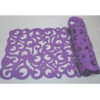 Buy cheap Cut felt table runner, table cloth, table linen from wholesalers