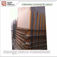 Quality reusable steel frame formwork for square column,symons formwork for sale