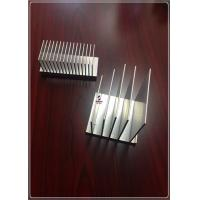 Quality 6063 T5 Silvery Industry Heat Sink Aluminum Profiles , Machined Aluminium Profiles for sale