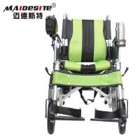 Quality DLY-6001A Handicapped Electric Folding Wheelchair With Battery 130kg for sale