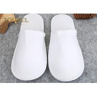 Quality Luxury With Unisex Size White Spa Slippers For Men And Women , Disposable House Slippers for sale