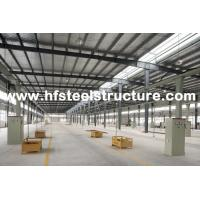 Quality Welding, Braking Structural Industrial Steel Buildings For Workshop, Warehouse And Storage for sale