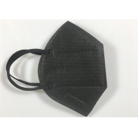 Buy cheap Kn95 Black Mask High Quality With Breathable Valve from wholesalers