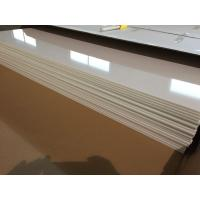 Quality Ivory White PVC Ceiling Panels Glossy Oil Protecting Plastic Ceiling Tiles 603mm x 1210mm for sale