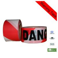 Quality Building Red 200m Printed PE Safety Custom Barricade Tape for sale