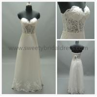 Buy cheap Sheath/Column Sweetheart Beading Lace and Chiffon Wedding Dress #LT2120B from wholesalers
