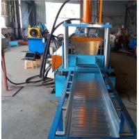 Quality Easy Operation Trench Cable Tray Roll Forming Machine 22KW 600MM Width SGS for sale