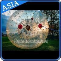 Quality 2.5m Children Human Hamaster Inflatable Zorb Ball , Grass Roller Ball for sale