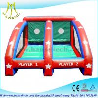 Quality Hansel inflatable sports games basketball,inflatable ball games for kids for sale