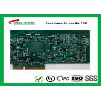 Quality Printed Circuit Board Double Sided PCB 6 Layer Lead Free HASL + Gold Finger for sale