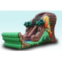 Quality Tree House Inflatable Slide for sale