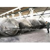 China 1.5m*20m Malaysia Boat Lift Air Bags Launching Ship Salvage Lift Bags on sale