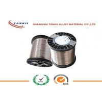 Quality 0.6mm CuNi30Mn Copper Nickel Alloy Wire , Copper Nickel Strip for Thermal Overload Relay for sale