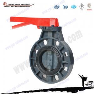 China PVC butterfly valve on sale
