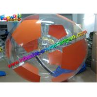 China Air Sealed Inflatable Zorb Ball Water Walking Sport Games Football Design 2m Diameter on sale