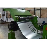 Quality 380V 50Hz 3 Phase Cold Coil Steel Slitting Lines 30m / Minute Green Color for sale