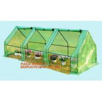 China Polycarbonate strong garden greenhouse double-door green house,NEW WALK IN GREENHOUSE GARDENING SEEDS PROPOGATING 143cm* on sale