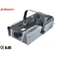 Quality High Output Factory Price 8*3w RGB colorful LEDs 1500w Stage Fog Machine For Party   X-024 for sale